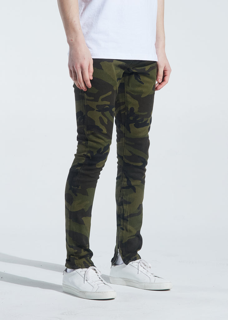 Pacific Denim (Green Camo)
