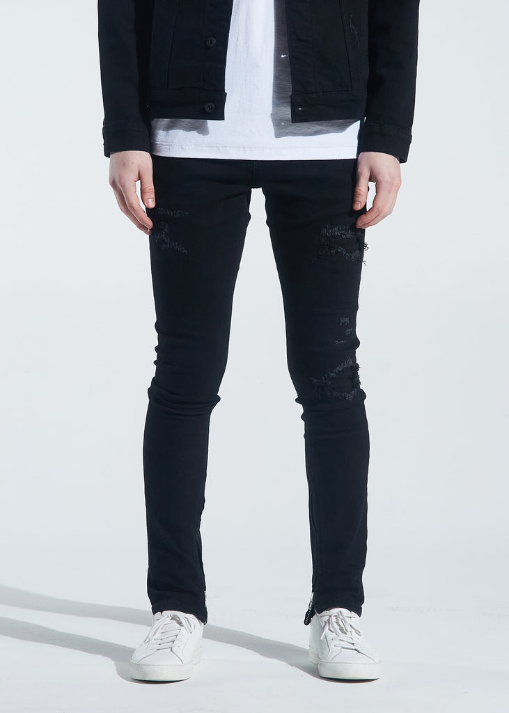 Pacific Denim (Black Distressed)