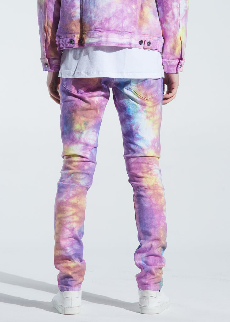 Pacific Denim (Light Tie Dye)