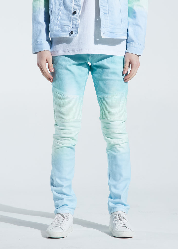 Skywalker Biker Denim (Aqua Marine)