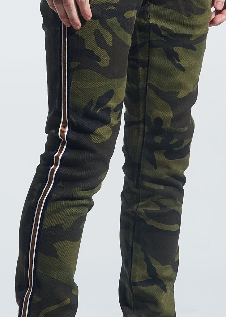 Atlantic Striped Denim (Camo)