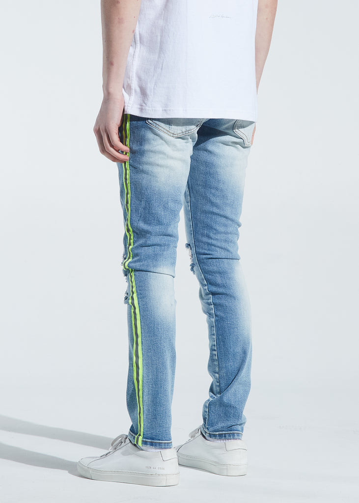 Atlantic Striped Denim (3M Highlighter)