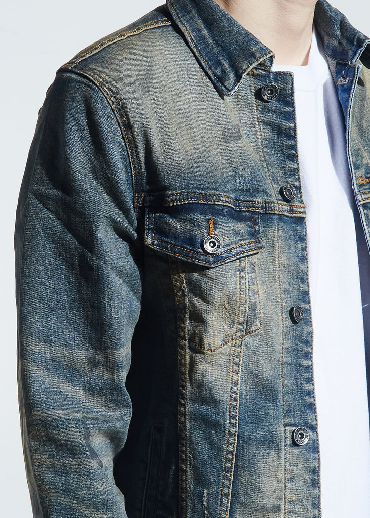 Bering Denim Jacket (Sand Wash)