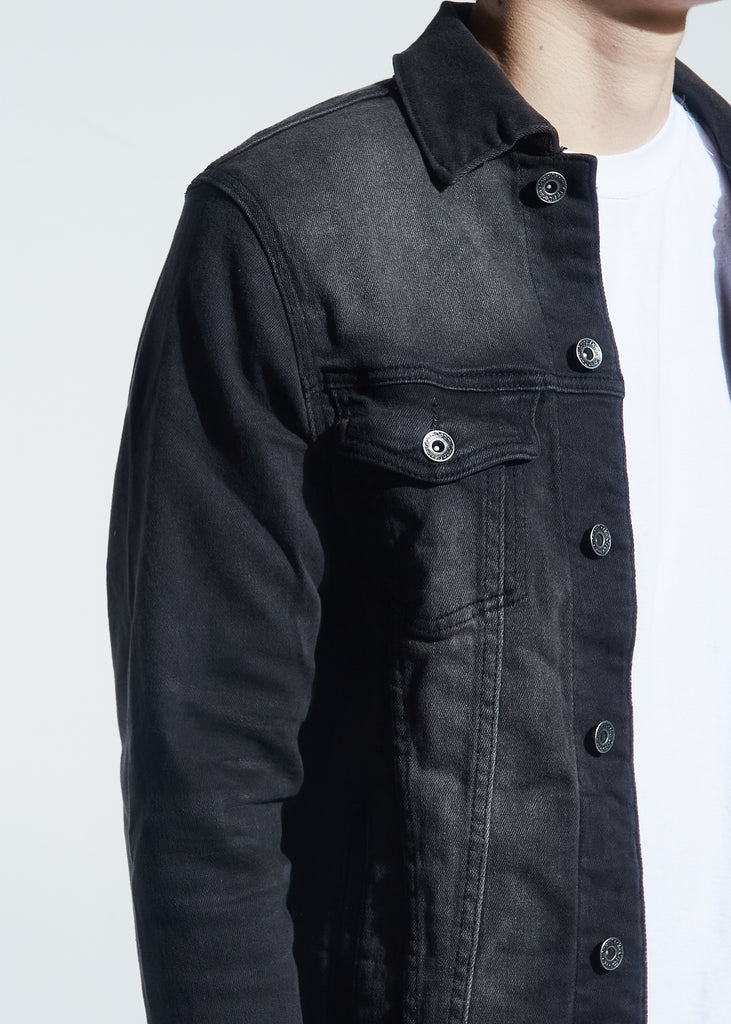 Bering Denim Jacket (Dark Gray)
