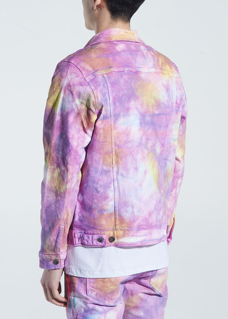 Bering Denim Jacket (Light Tie Dye)
