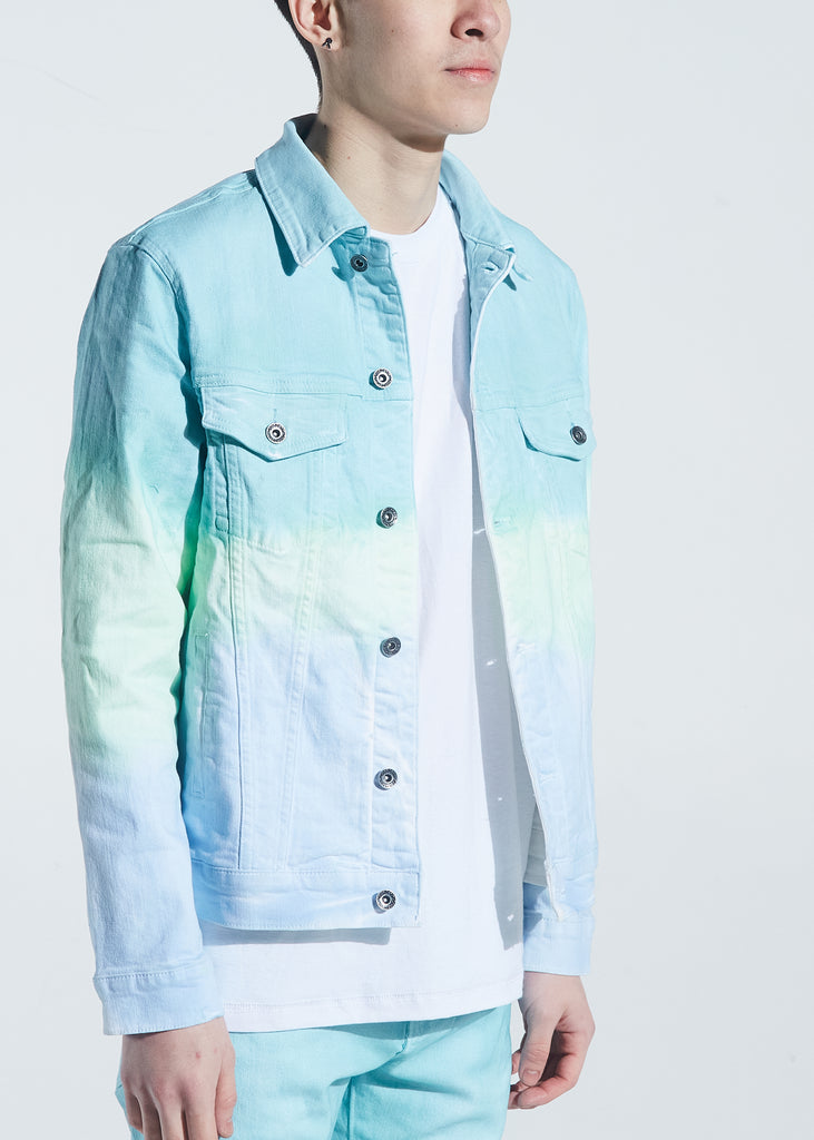 Bering Denim Jacket (Aqua Marine)