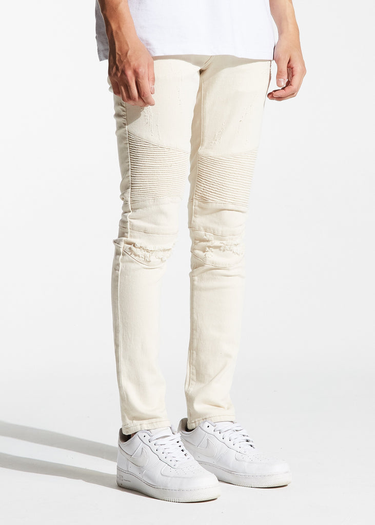 Skywalker Biker Denim (Cream)