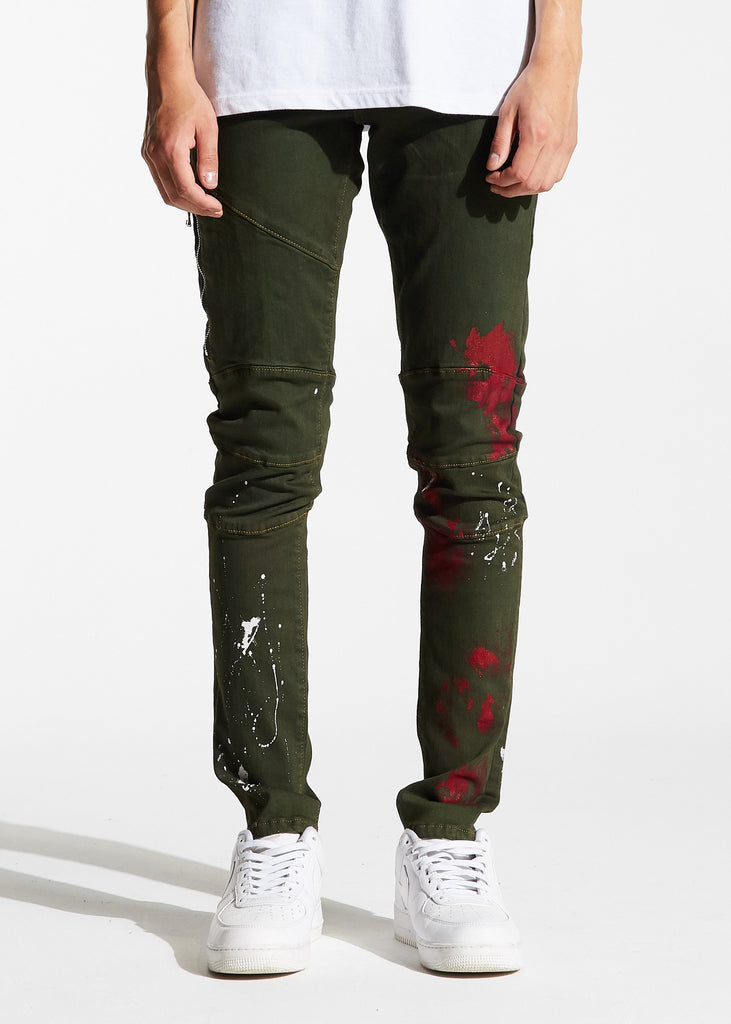 Tony Denim (Green)