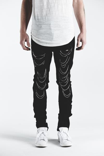 GHOST DENIM (BLACK)