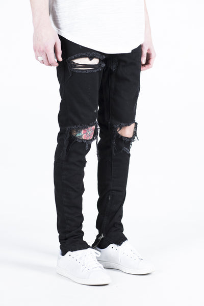 PACIFIC DENIM (BLACK WAX RIPPED)