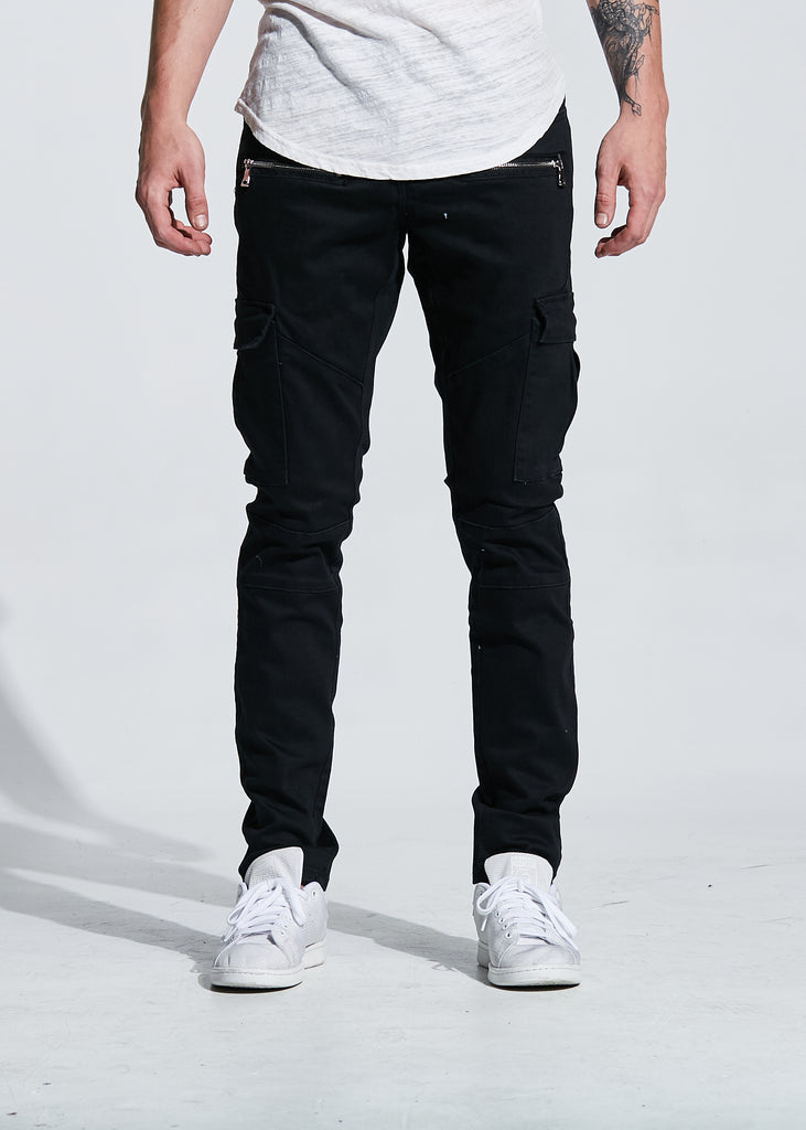 JOEY CARGO DENIM (BLACK)