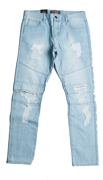 MONTANA RIPPED DENIM (LIGHT VINTAGE)