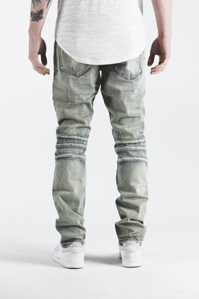 Pete Biker Denim (Light Vintage)