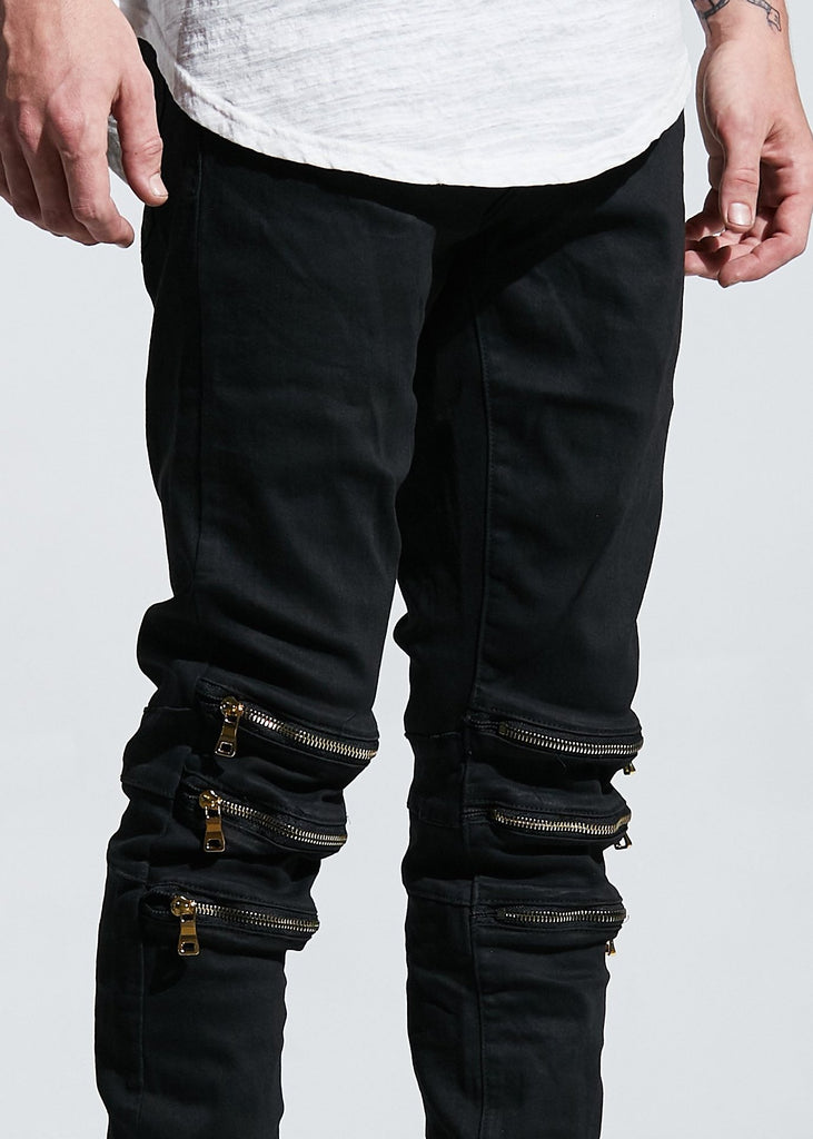 ROSS DENIM (BLACK WAX)