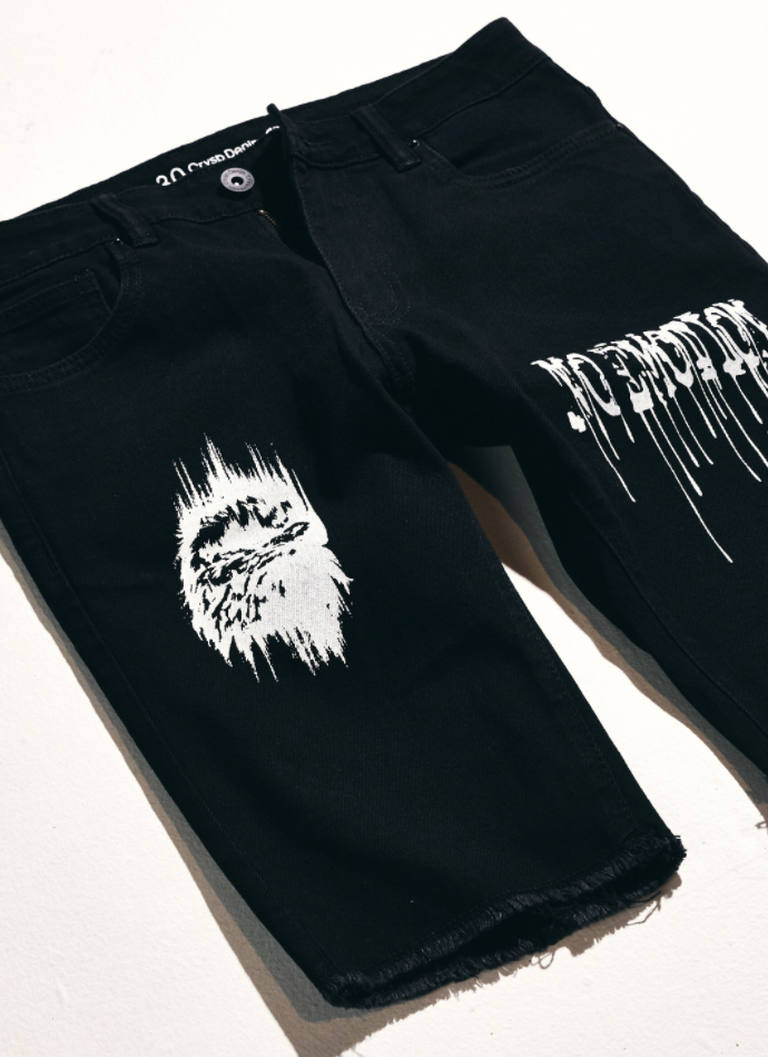 Philips Shorts (Written Black)