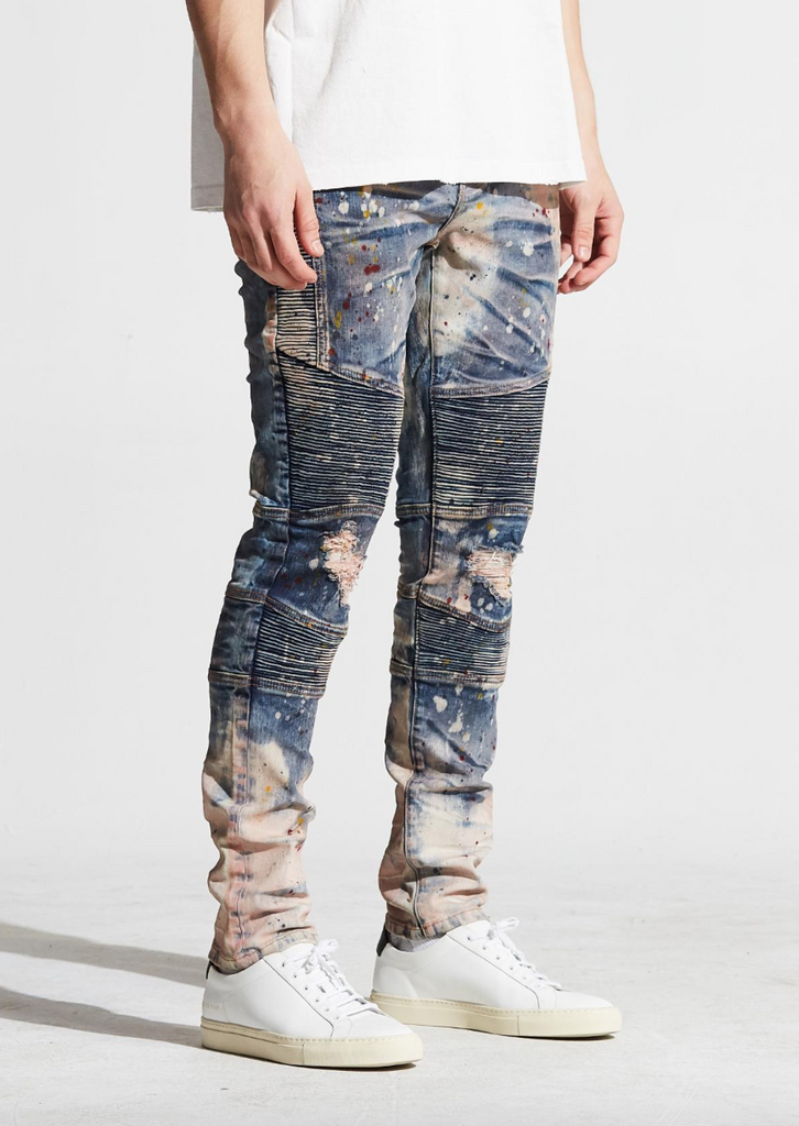 Bron Denim (Bleach Wash)