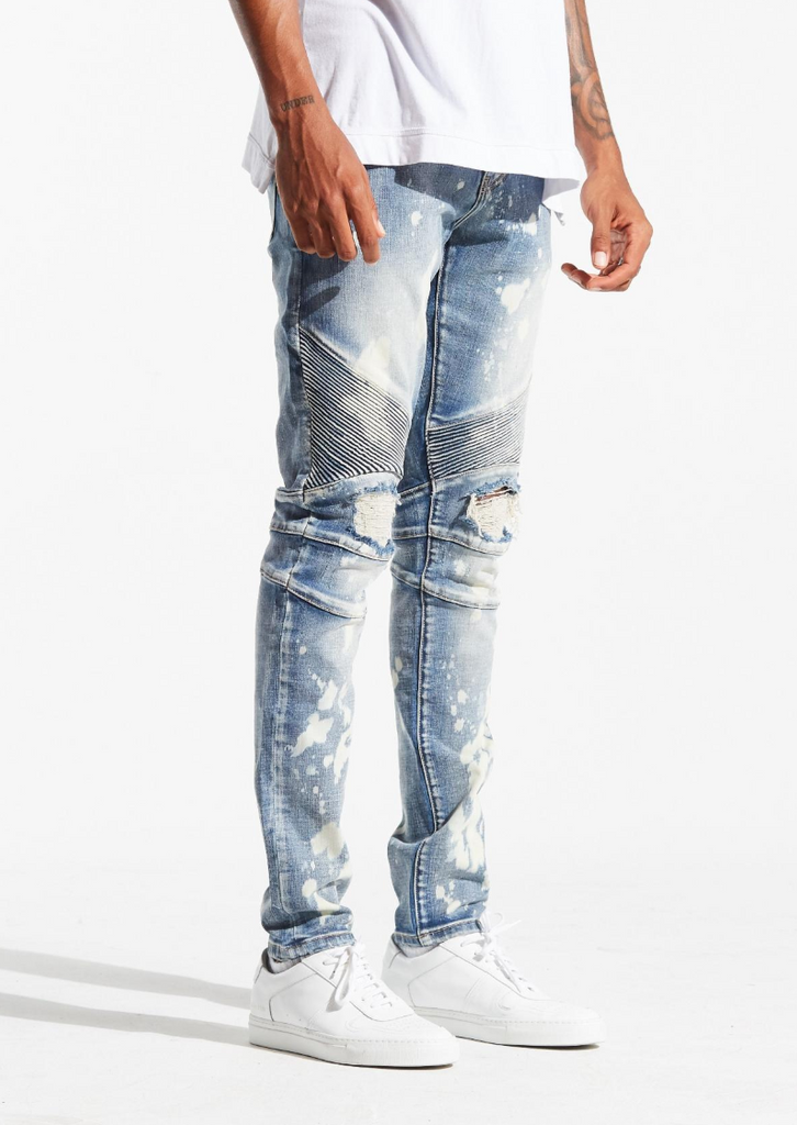 Skywalker Denim (Blue Bleach)