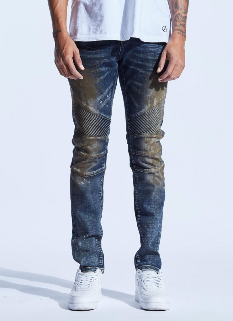 Skywalker Denim (Dark Indigo Rust)