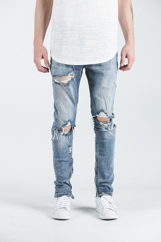 Pacific Denim (Sandy Blue)