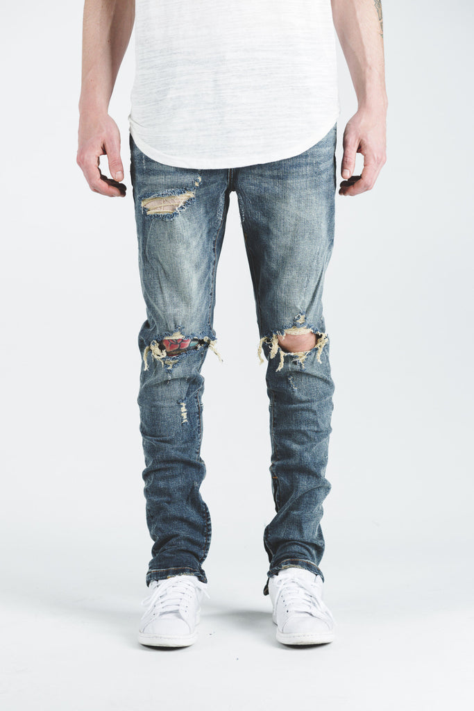 PACIFIC DENIM (BLUE VINTAGE RIPPED)