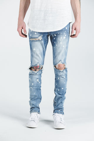 GUY RIPPED DENIM