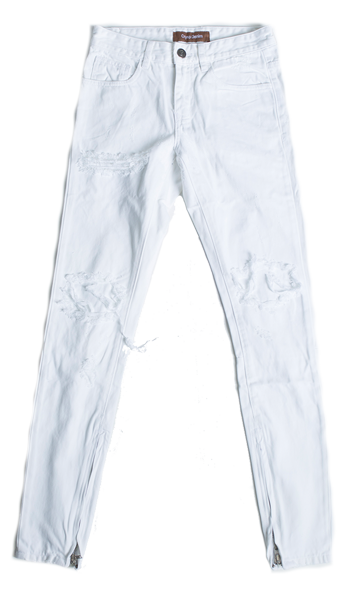 Pacific Denim (White Ripped)