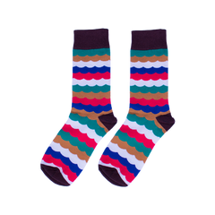 Wavy Crazy Socks - C&C Socks - Cool & Crazy Socks