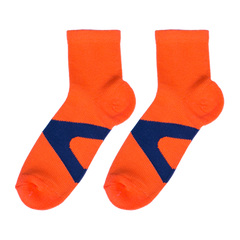 Orange V Socks - C&C Socks - Cool & Crazy Socks