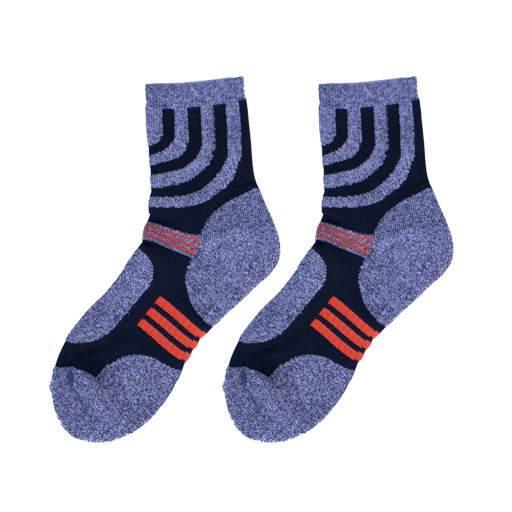 Sporty Orange Socks - C&C Socks - Cool & Crazy Socks