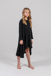 Black long-sleeve filly dress
