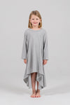 Grey Marle short-sleeve filly dress