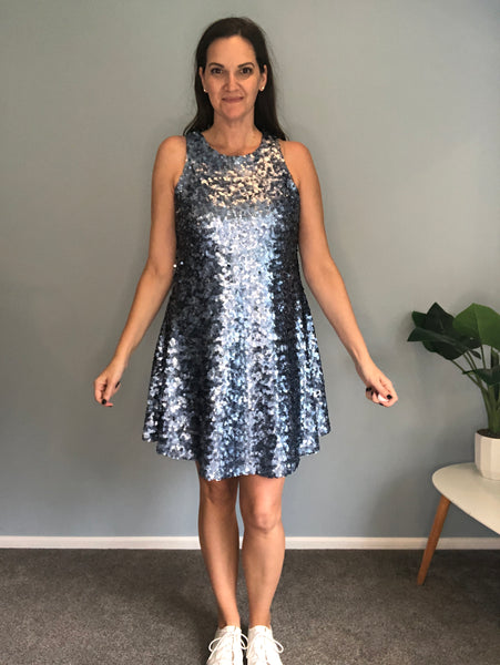 Bohemian Traders sequin mini dress size M (12)