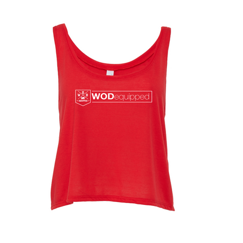 2757829391 WOD equipped. £11.00. Essential - Cropped tank - Clearance
