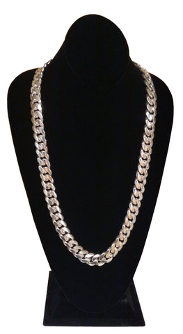 925 Sterling Silver Miami Cuban Link Chain
