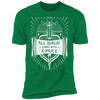 All Magic Comes With a Price - T-Shirt-T-Shirt-CustomCat-Men's T-Shirt-Kelly Green-S