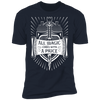 All Magic Comes With a Price - T-Shirt-T-Shirt-CustomCat-Men's T-Shirt-Midnight Navy-S