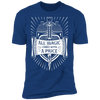 All Magic Comes With a Price - T-Shirt-T-Shirt-CustomCat-Men's T-Shirt-Royal Blue-S