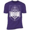 All Magic Comes With a Price - T-Shirt-T-Shirt-CustomCat-Men's T-Shirt-Purple-S
