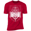 All Magic Comes With a Price - T-Shirt-T-Shirt-CustomCat-Men's T-Shirt-Red-S