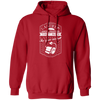 Assbutt Toilet Paper - Hoodie-Hoodie-CustomCat-Red-S-