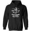 Attached to Fictional Characters - Hoodie-Hoodie-CustomCat-Black-S-