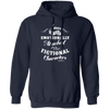 Attached to Fictional Characters - Hoodie-Hoodie-CustomCat-Navy-S-