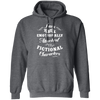 Attached to Fictional Characters - Hoodie-Hoodie-CustomCat-Dark Heather-S-