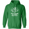 Attached to Fictional Characters - Hoodie-Hoodie-CustomCat-Irish Green-S-