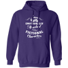 Attached to Fictional Characters - Hoodie-Hoodie-CustomCat-Purple-S-