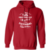 Attached to Fictional Characters - Hoodie-Hoodie-CustomCat-Red-S-