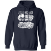 Born Too Early and Too Late - Hoodie-Hoodie-CustomCat-Navy-S-