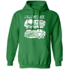 Born Too Early and Too Late - Hoodie-Hoodie-CustomCat-Irish Green-S-