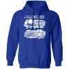 Born Too Early and Too Late - Hoodie-Hoodie-CustomCat-Royal Blue-S-
