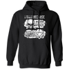 Born Too Early and Too Late - Hoodie-Hoodie-CustomCat-Black-S-